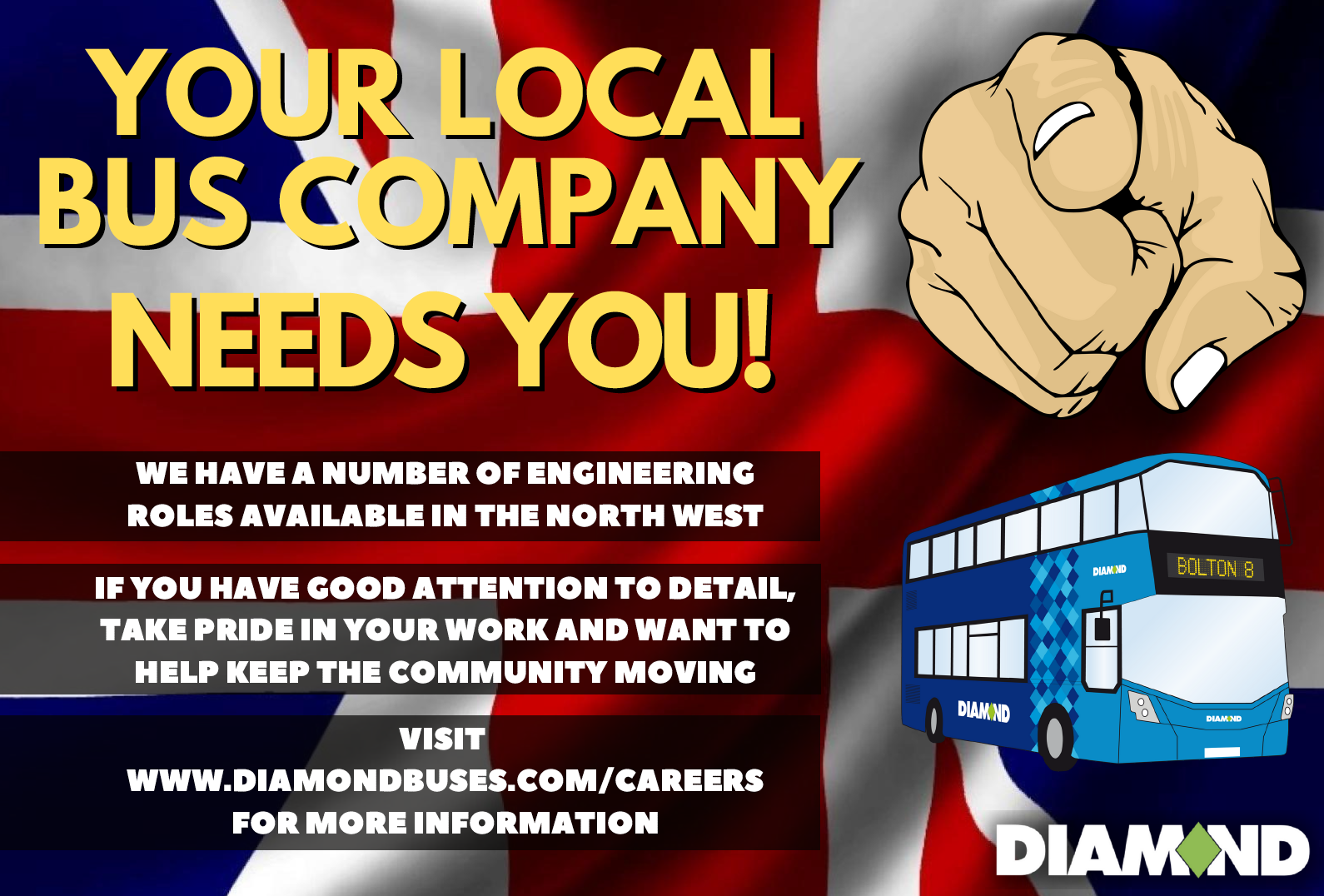Your local bus company needs you