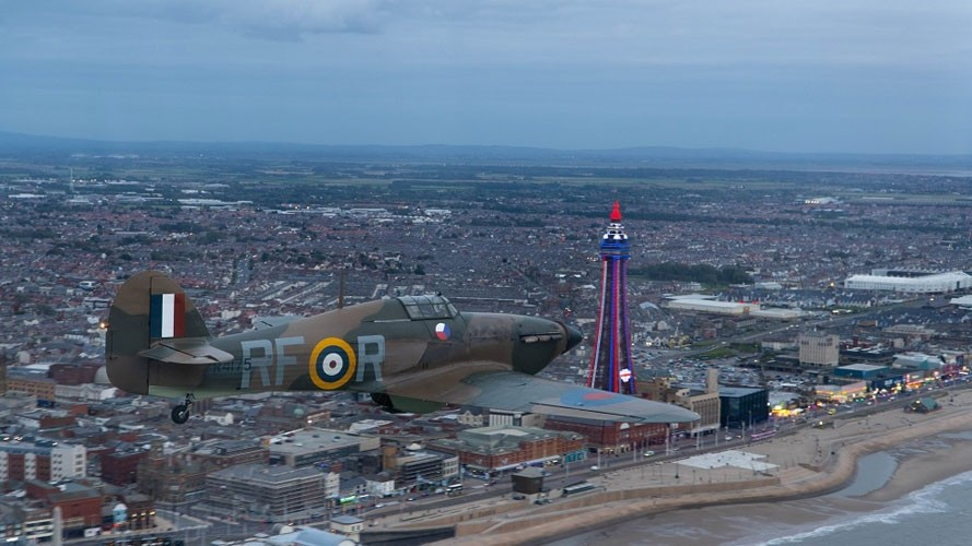 Blackpool presents spectacular tribute for Battle of Britain anniversary