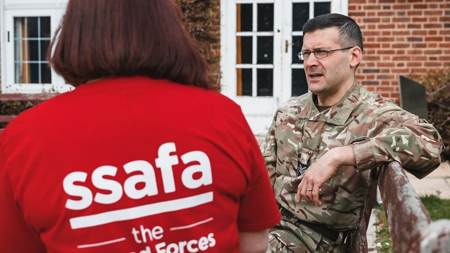 SSAFA, the Armed Forces charity named as Boeing UK Charity of the Year 2019