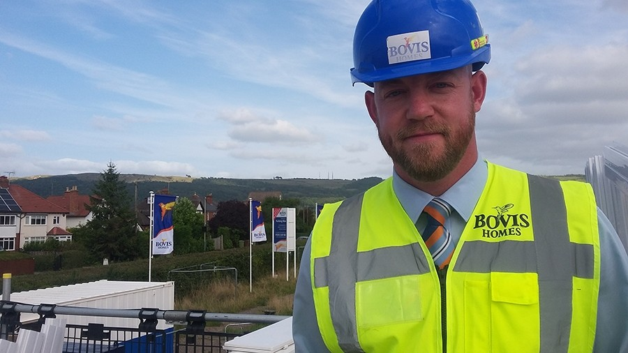 Lee relishing 'best job since leaving the Army' with Bovis Homes
