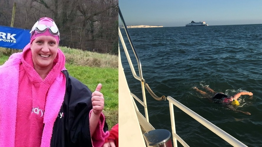 Swimming the Channel for SSAFA