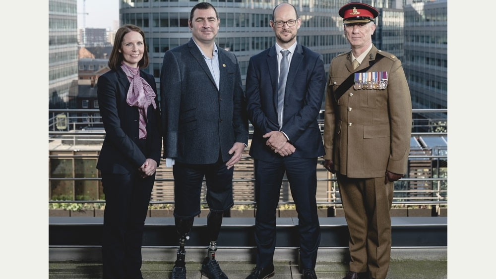 Corporal joins forces with law firm to encourage soldiers to seek help after injury