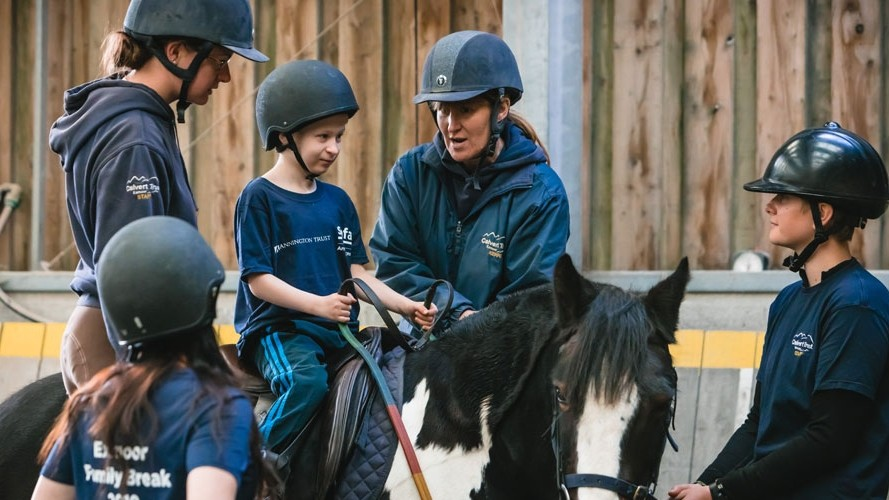 Sign up to SSAFA's family break in Exmoor!