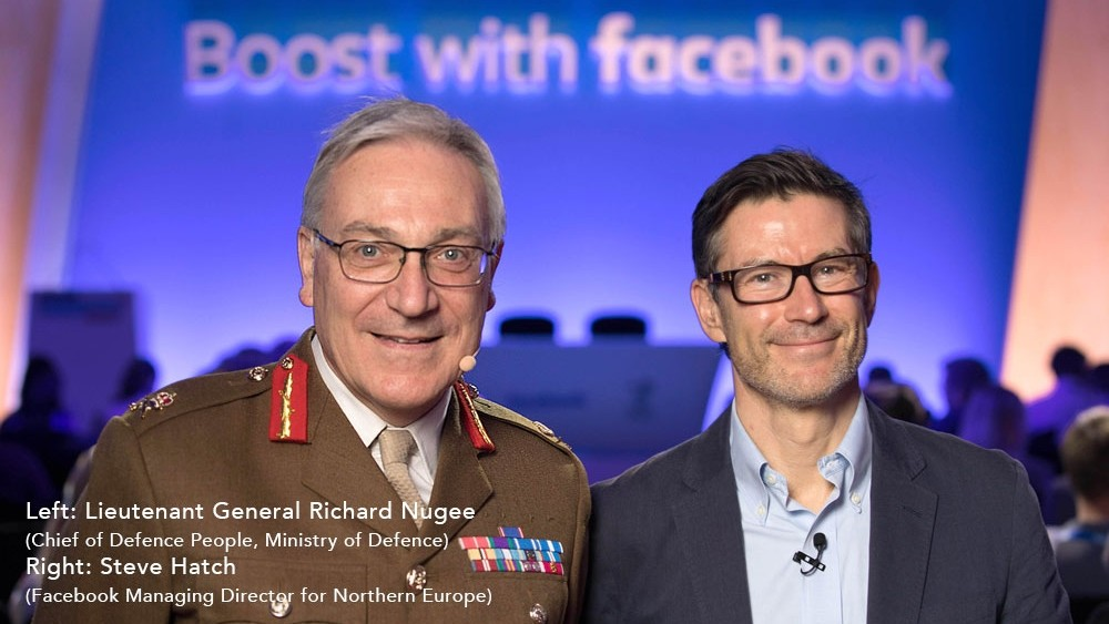 Facebook UK boosts veterans with the digital skills to launch their own businesses