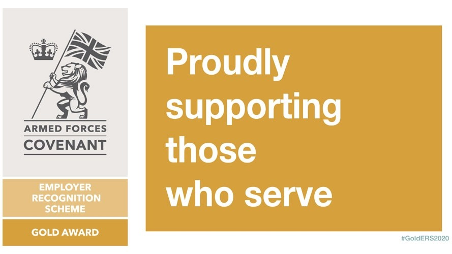 Seven north-west employers receive Gold Award for Armed Forces community