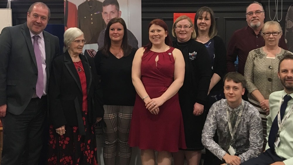 Scottish Veterans Minister visits Glasgow Helping Heroes