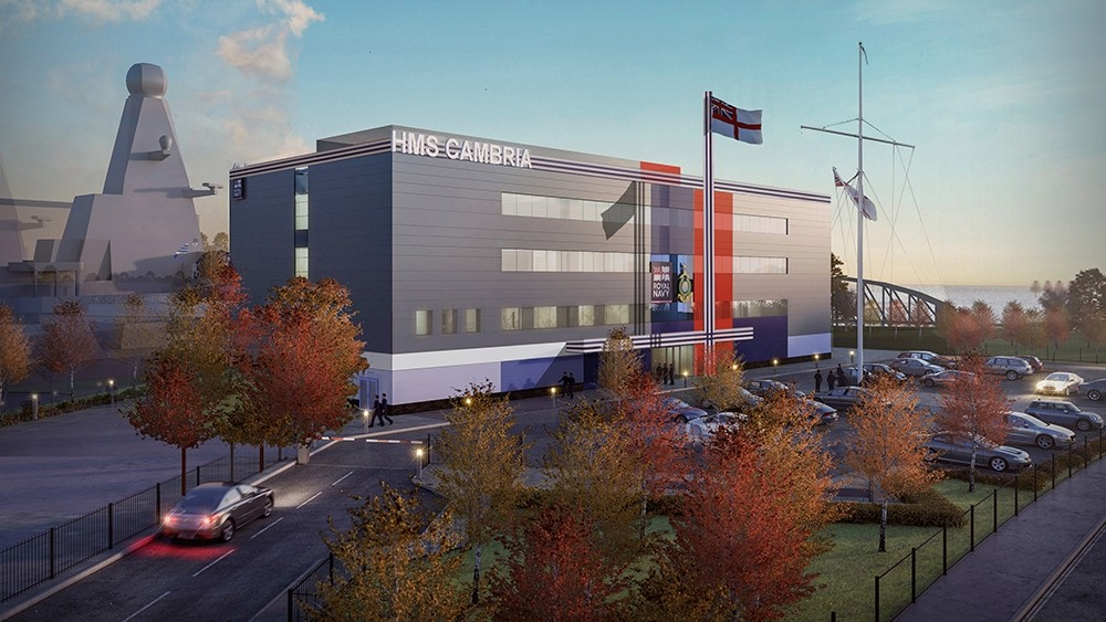 MORGAN SINDALL CONSTRUCTION & INFRASTRUCTURE TO DELIVER £8 MILLION STATE-OF-THE-ART NAVY BASE