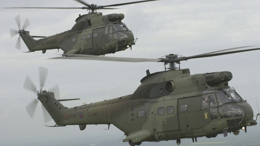 Military sets up helicopter task force to support NHS