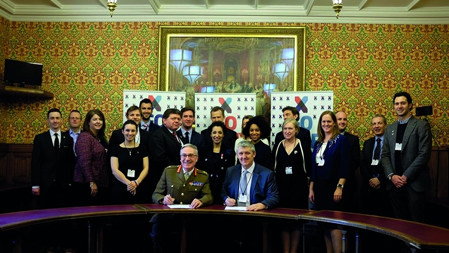 X-Forces renews pledges to support Armed Forces community