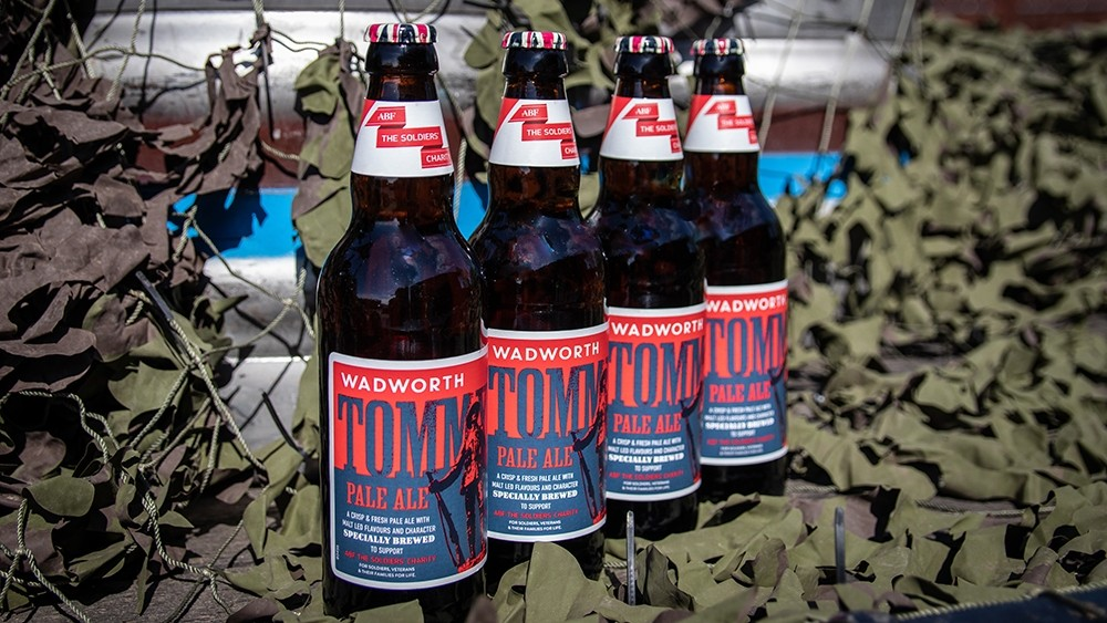 Tommy ale launched in celebration of ABF The Soldiers' Charity 75th anniversary