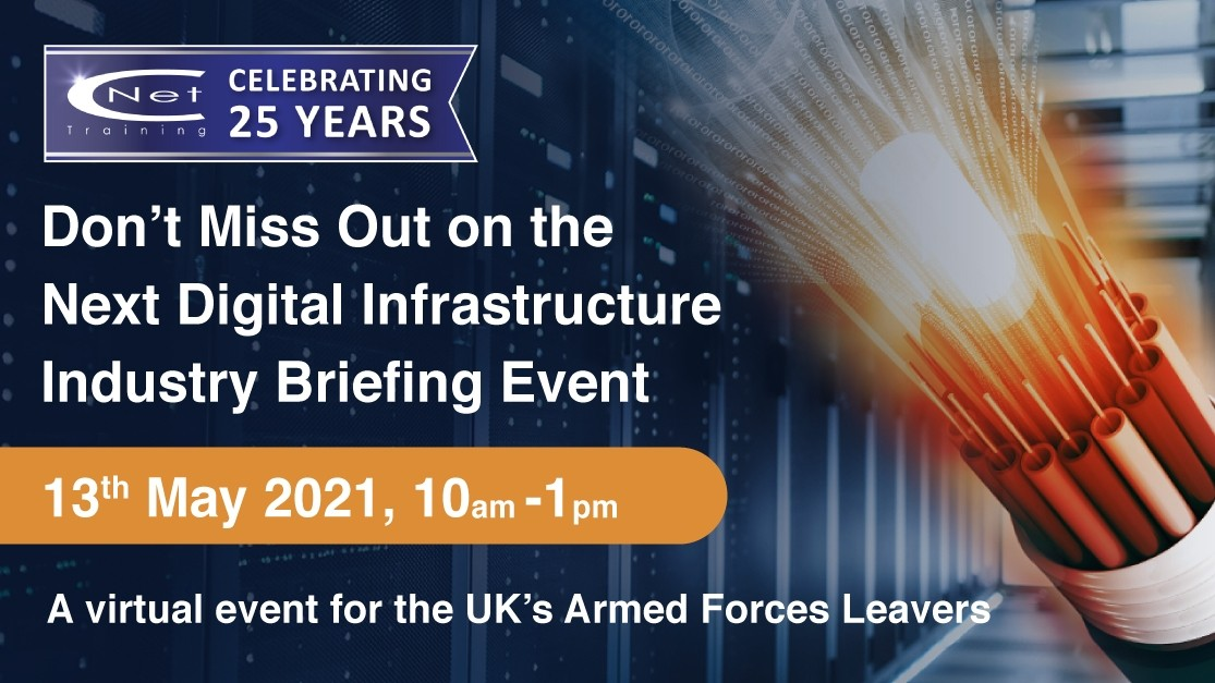 Sign up to attend CNet Training's Digital Infrastructure Industry Briefing