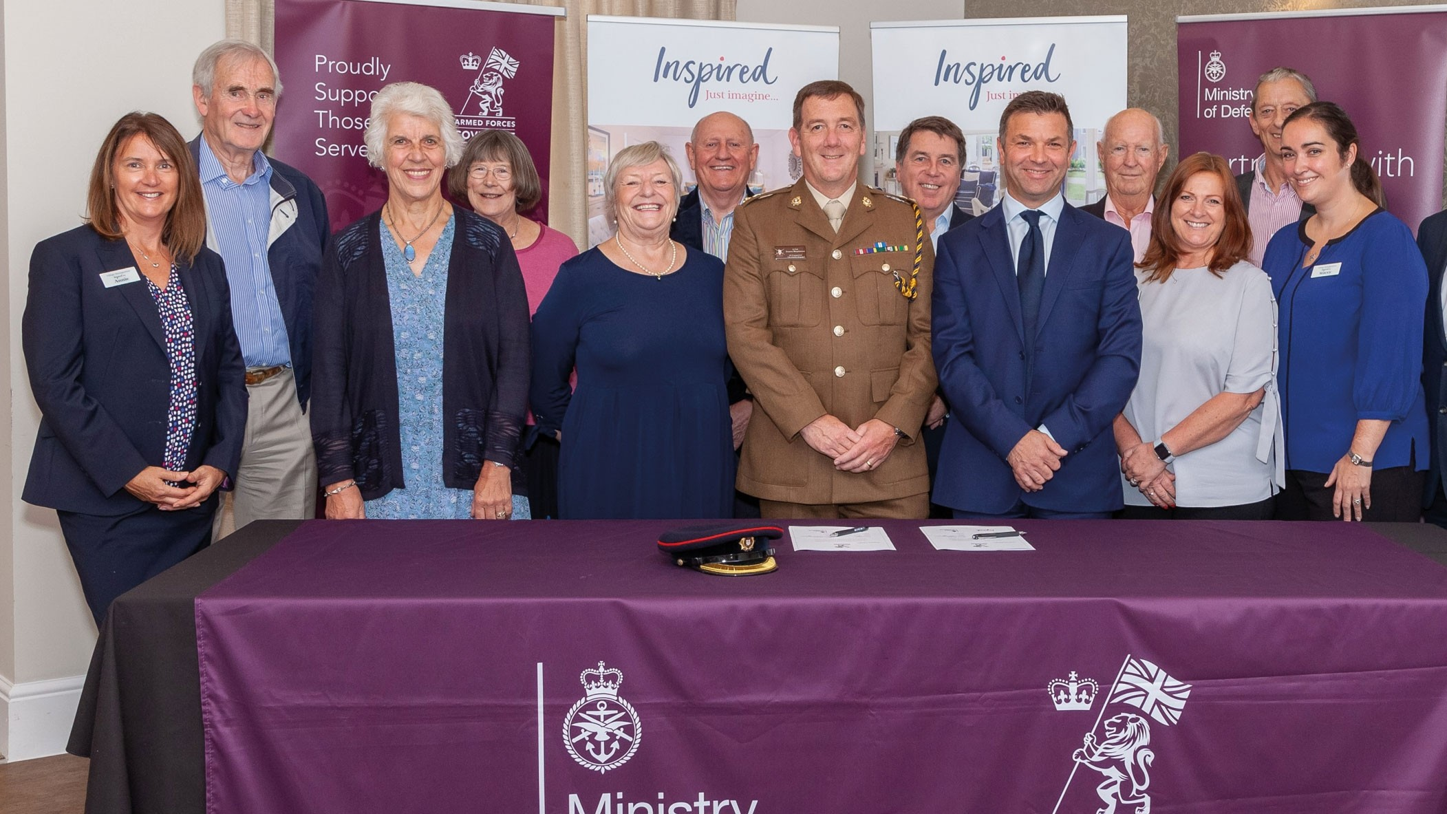 IVG pledges support to former and serving members of the Armed Forces and their families