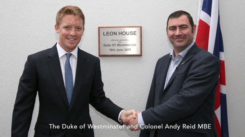 Duke of Westminster opens new 23-bed facility for Army vets