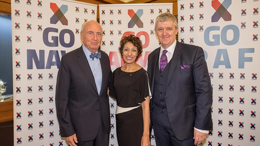 Sir Michael Fallon and Lord Young support X-Forces Military Entrepreneurs
