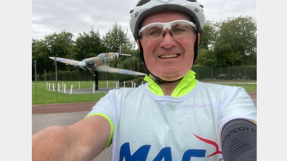 David's 75 miles for 75 years