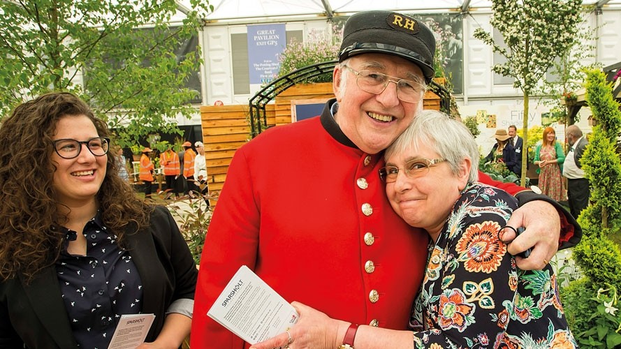 Military veterans win big at the Chelsea Flower Show