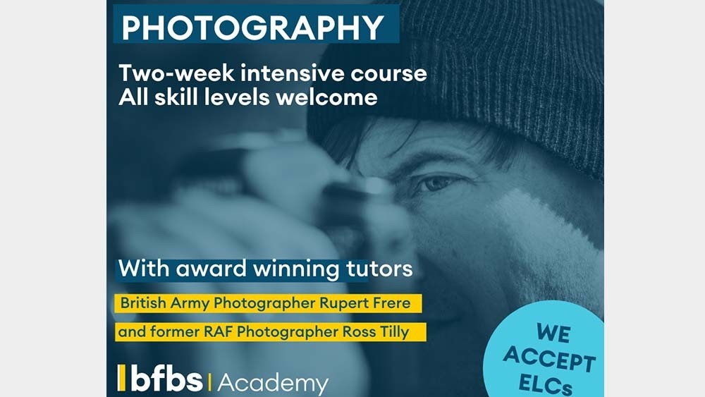 Picture yourself as a photographer?