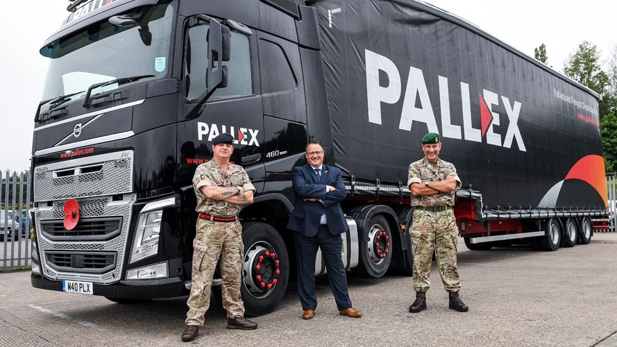 Pall-Ex named Silver Employer by Ministry of Defence
