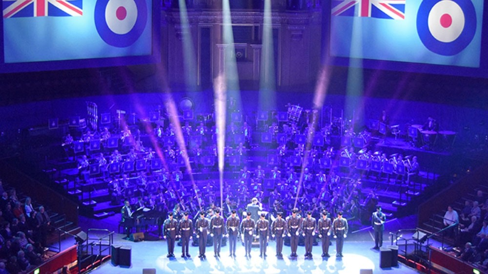 RAF musicians tune up for two special concerts