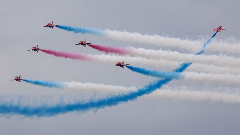 'Best of British' Red Arrows to tour North America