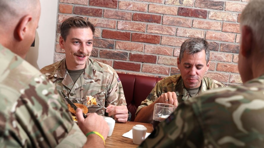 Free breakfast for military personnel and veterans on Remembrance Sunday