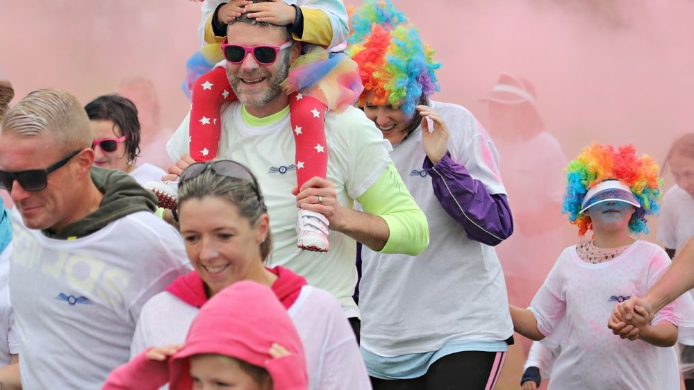Early birds sign up now for run with a colourful twist!