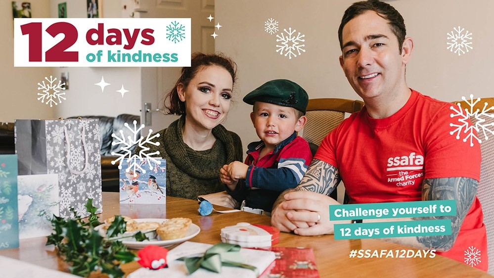 Support the Forces community with 12 Days of Kindness this Christmas