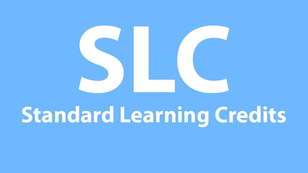 Standard Learning Credits