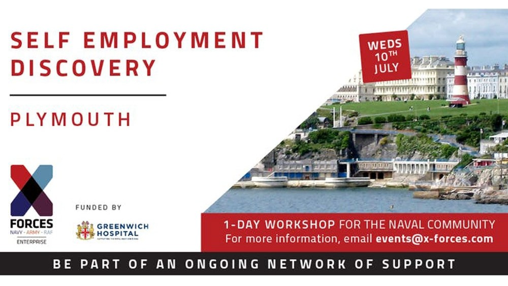 Self-Employment Discovery Workshop for Plymouth's Navy families
