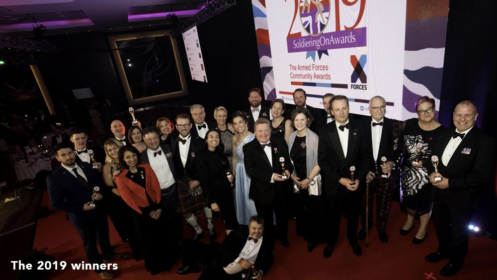 As we celebrate Armed Forces Day, who will you nominate for a Soldiering On Award 2020?