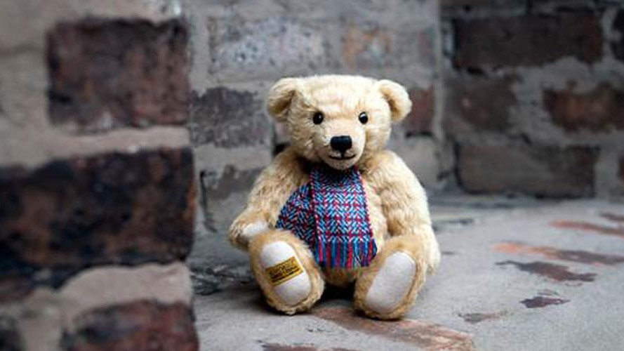 Special-edition teddy bear raising funds for SSAFA