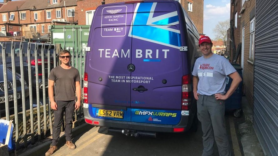 Team BRIT calls on motorsport industry to support disaster response charity
