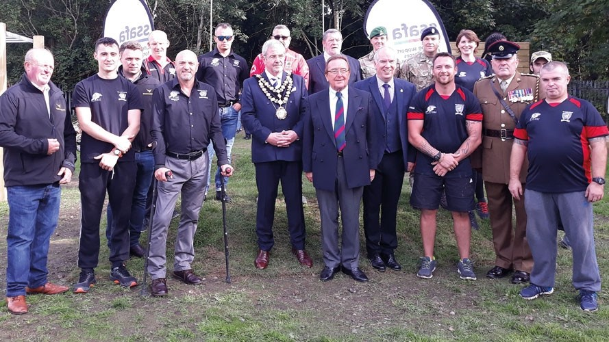 Dignitaries attend new phase for boxing charity The Bulldogs