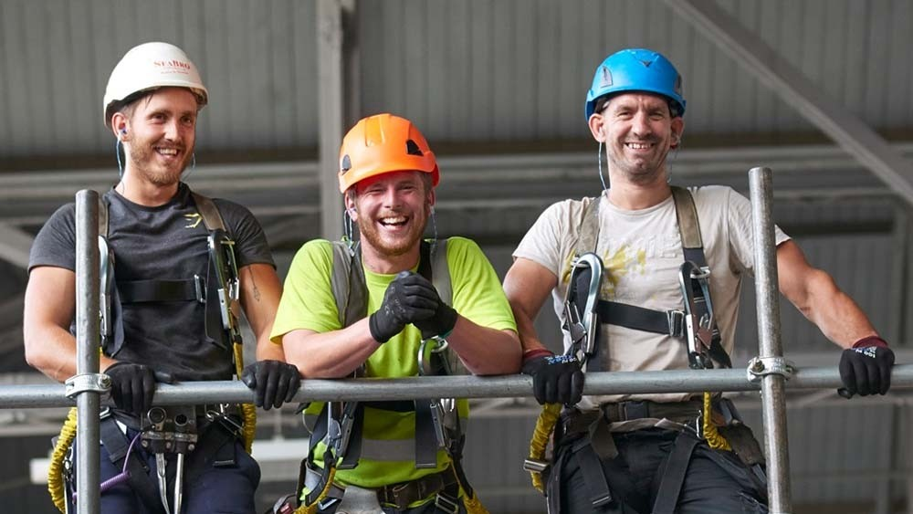 Swap the Services for scaffolding and enjoy free training