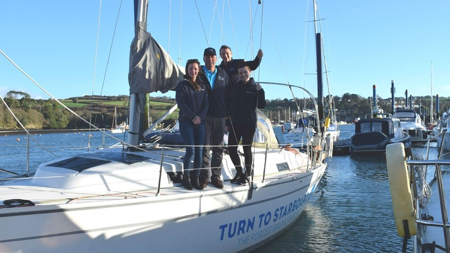 Major support for military sail training charity Turn to Starboard