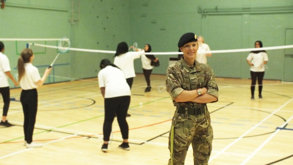 MEET THE RESERVES Vickie Bracken, Army Reservist 'Those who can, teach and train to be the best!'