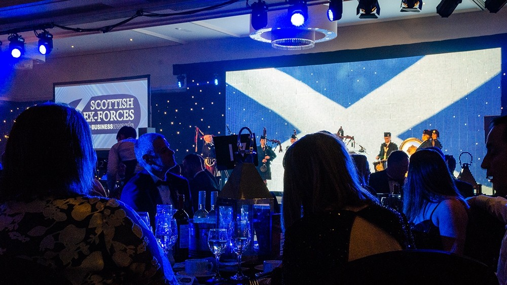 Winners revealed at first ever Scottish Ex-Forces in Business Awards