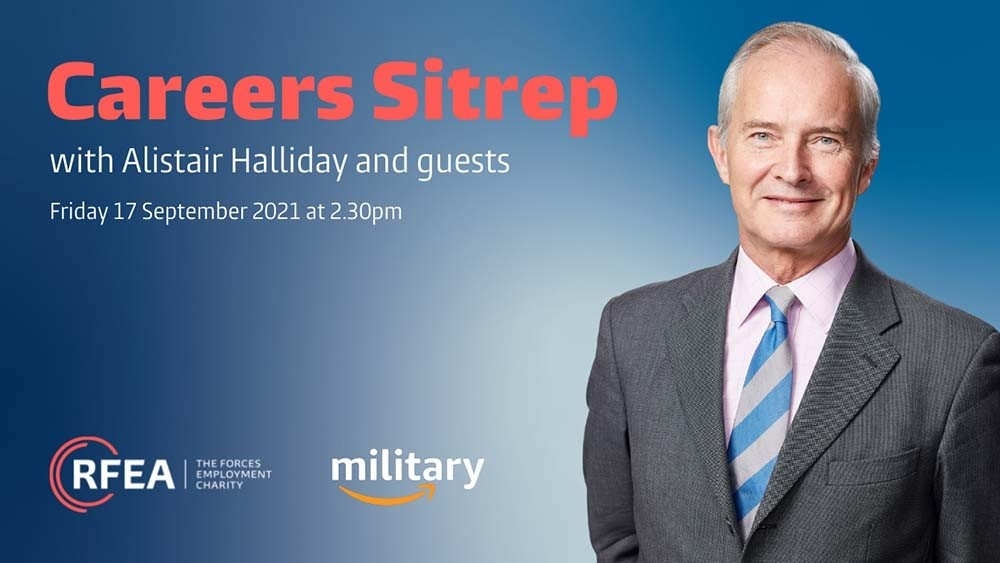 Amazon joins RFEA's Careers Sitrep to offer free advice to veterans