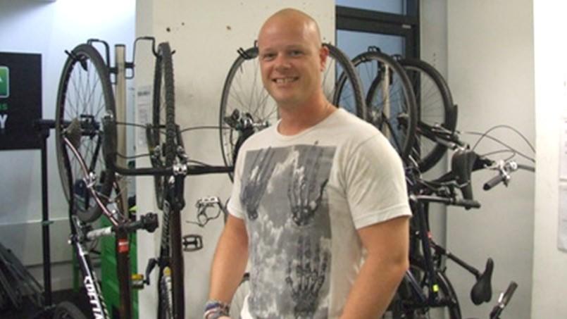 All set to capitalise on the bike boom!
