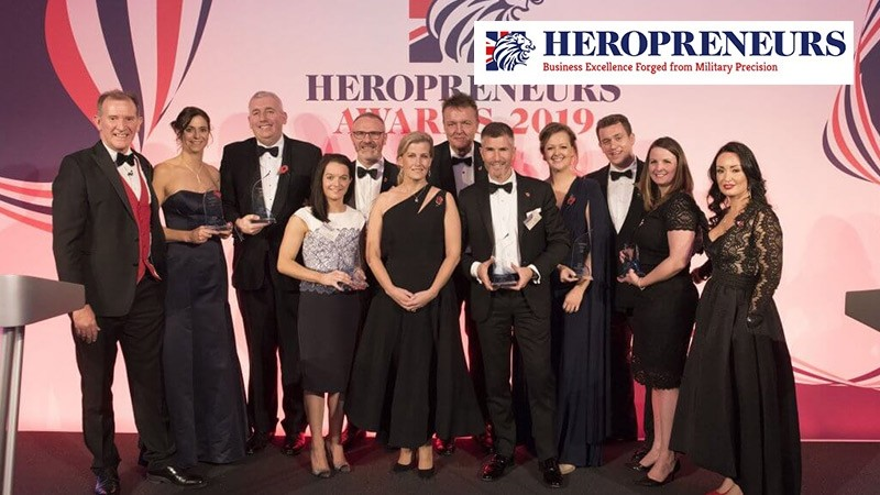 The Heropreneurs Awards: extraordinary opportunities for military entrepreneurs