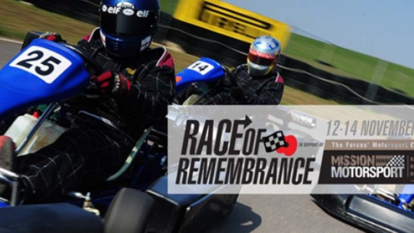 Race of Remembrance: let's go karting!