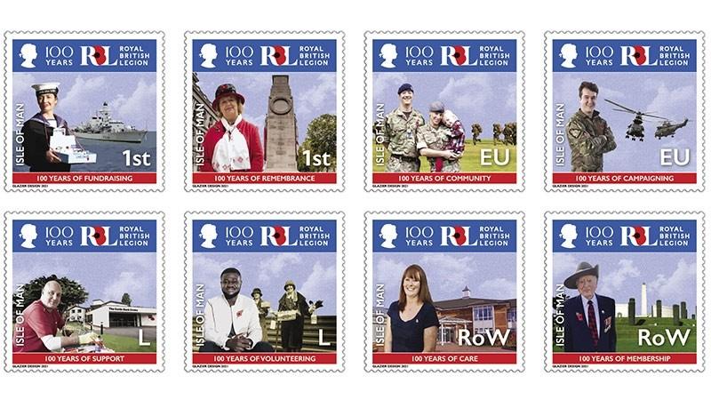 New stamps honour Royal British Legion centenary
