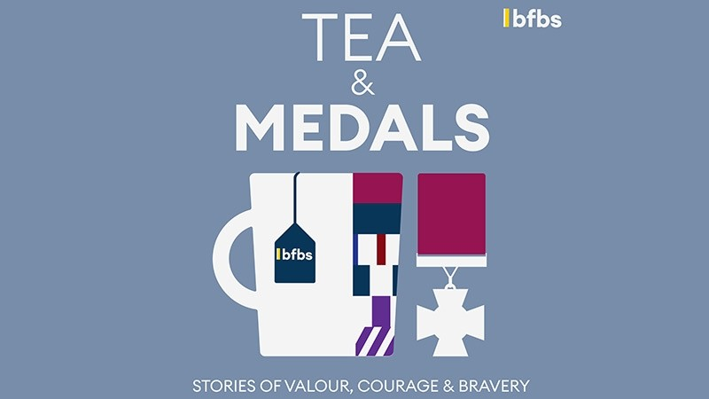 BFBS brews up a podcast to celebrate acts of extraordinary valour