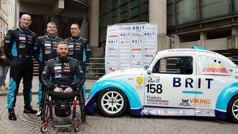 Team BRIT promotes positive effects of motorsport on mental health
