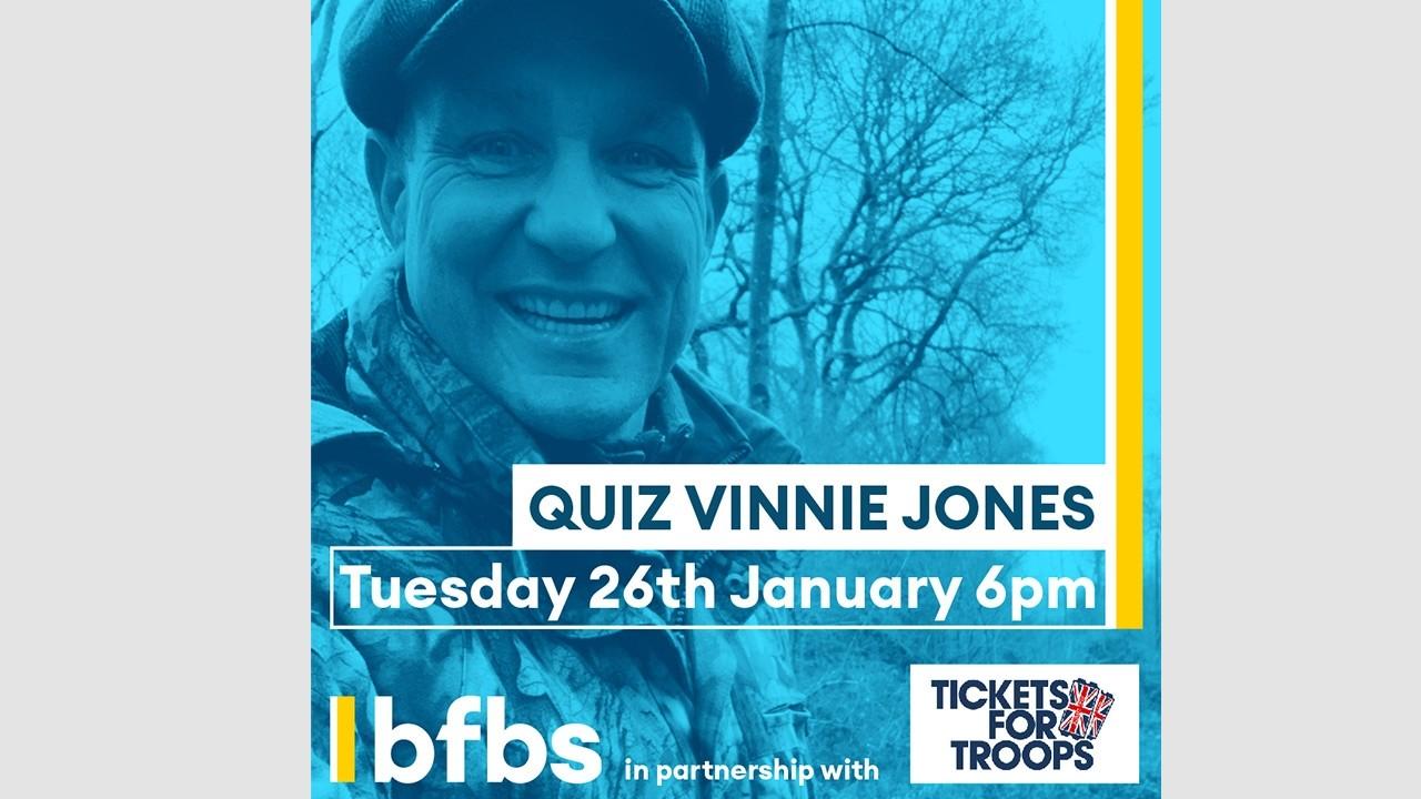 Fancy some banter with Vinnie Jones?